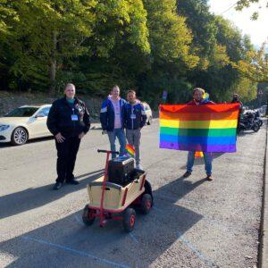 Orga Team Pinne Pride 2020